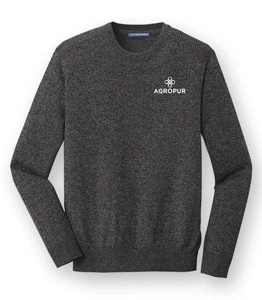 Picture of SW417 - Marled Crew Sweater
