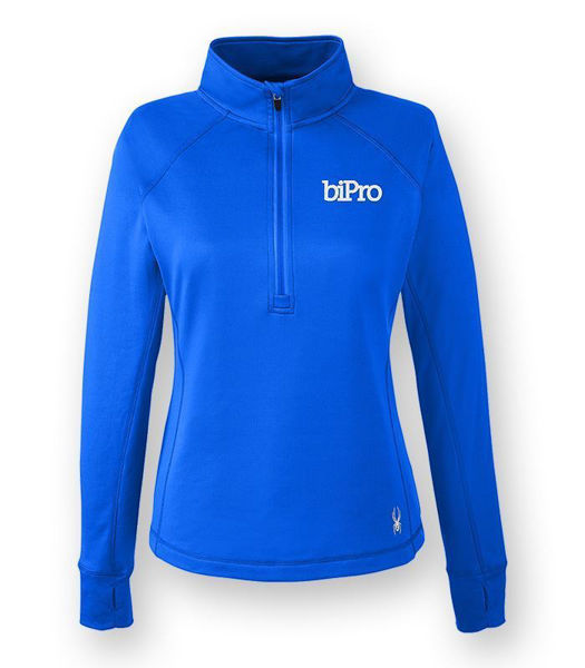 Picture of S16798 - Ladies' Spyder 1/2 Zip Pullover